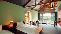 Rooms infused with pure, soothing air
