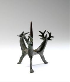 candlestick Year 1200-1300  Dimensions 11,3 cm Material and technique brass
