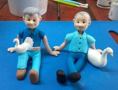 Cupcake Toppers, Smurfs, Fondant, Icing, Cake Decorating, Cakes, Character, Cake Makers, Kuchen