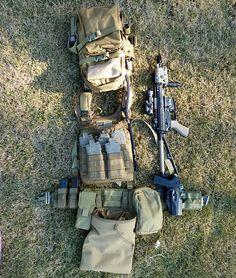 Plate carrier and battle belt combo... Interesting
