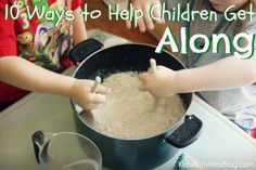 10 tips for helping your children get along.