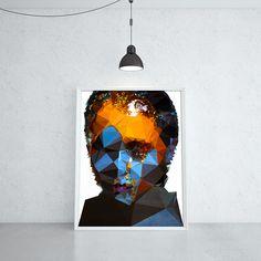 BLUEBERRY CUMSHOT (KUBISTIKA Modern cubism Art | by BORIS DRASCHOFF)