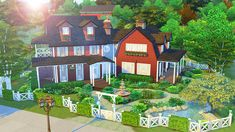 AvelineSims — Family Farmhouse I was reeeally in the mood to...