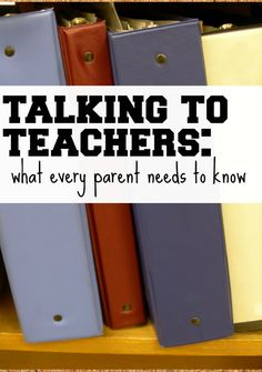 5 tips for talking to teachers that every parent needs to know. Click for details.