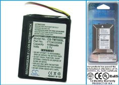 Battery for TomTom One XL by TomTom. $16.92. - Capacity: 1150mAh - Li-ion battery - Compatible with battery have part number: F724035958