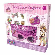 Amazon.com : The Orb Factory Fancy Nancy Sunglasses : Childrens Mosaic Craft Kits : Toys & Games