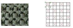 négyzetes minta