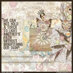 Empower!!! ...  Post Note Quote by Scrapbookgraphics