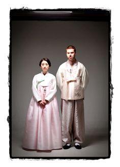 Traditional Hanbok-Korean wedding attire. Korean Traditional Dress, Traditional Dresses, Wedding Attire, Wedding Dresses, Korean Wedding, Korean Dress, Traditional Wedding, Wedding Styles, Clothespins