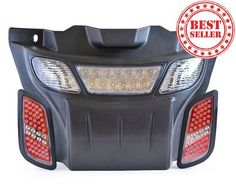 Best high/low beam LED light kit for all EZGO RXV golf carts | Very easy to install | Free shipping | Shop Today!