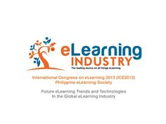 Global trends in the e-Learning industry by eLearning Industry via slideshare
