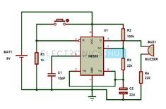 Adjustable Timer Circuit Diagram with Relay Output | Circuit diagram ...