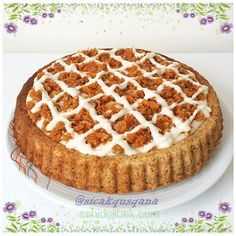Havuçlu tart kek