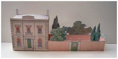 open_house_miniatures_victorian_suburban_villa_ paper_toy_house