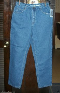 WOMEN'S LIZ CLAIBORNE CLASSIC FIT HAVE TO HAVE JEANS SIZE 14R NWT #LizClaiborne #TaperedLeg         ENDS IN 2 HOURS!!!!! DON'T MISS OUT!!!!
