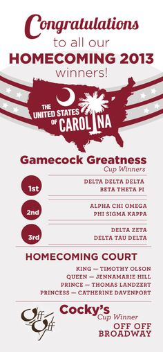 USC Homecoming 2013 for The Daily Gamecock ©UofSC Student Media 2014