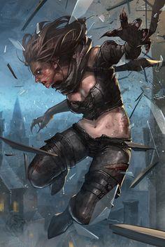 game illustration by leejeeh - Jee-Hyung Lee - CGHUB via PinCG.com