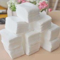 Wish | 700PCS Nail Art Manicure Polish Remover Clean Wipes Cotton Lint Pads Paper (Size: 700pcs, Color: White)
