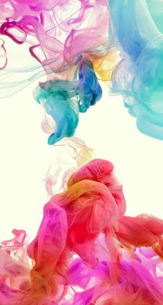 !!TAP AND GET THE FREE APP! Abstract Сolorful Smoke Art 3D HD iPhone 5 Wallpaper