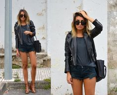 Get this look: http://lb.nu/look/6527690  More looks by L A: http://lb.nu/lafromlasblog  Items in this look:  One Teaspoon Shorts
