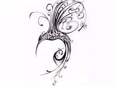 I really really love this one... The phoenix symbolizes
