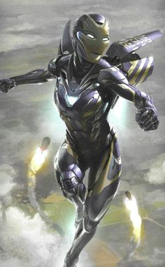 Avengers: Endgame - Rescue Suit Initial Concept Illustration by Phil Saunders Iron Man Avengers, Marvel Avengers, Marvel Comics Art, Marvel Comic Universe, Marvel Heroes, Marvel Cinematic Universe, Captain Marvel, Ms Marvel, Iron Man Kunst