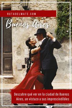 Descubre qué ver y qué hacer en Buenos Aires, un vistazo a sus imprescindibles, barrio por barrio Movies, Movie Posters, South America, Beads, Community, Film Poster, Films, Popcorn Posters, Film Books