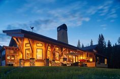 New Moose Creek - Big Sky, Montana - incredibly clever space design to delight, surprise and engage inhabitants.