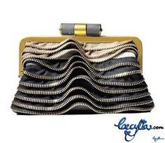 Prada Zipper clutch