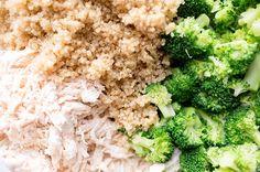 Recipe:+Chicken+and+Broccoli+Quinoa+Bake