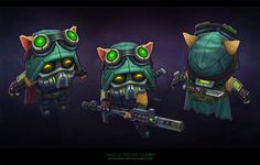 ArtStation - Omega Squad Teemo, Cody Bunt