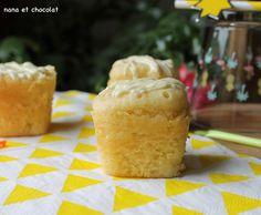 Petits gâteaux au yaourt et au chocolat blanc dans la Multi-Délices ( cuisson vapeur)