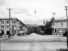 Center Street at Shattuck Avenue (Downtown Berkeley), circa 1890