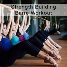 A strength building barre workout from the Cody blog.