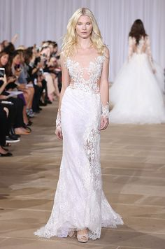 Plunging V-neckline lace mermaid wedding dress 5f637e1400f