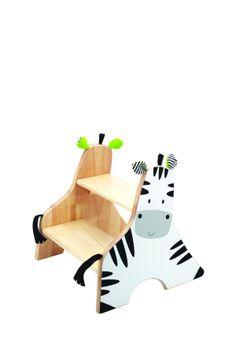 Zebra Step Stool