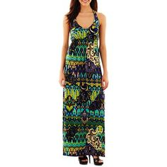 3dc10ce4d0b5 Bisou Bisou® Halter Maxi Dress - jcpenney  60.00