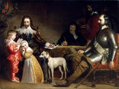An Interview Between Charles I. and Oliver Cromwell Photo: For this historical narrative painting Maclise invents a poignant moment in the life of Charle. Uk History, World History, King Charles, Petition Of Right, Charles Ii Of England, Margaret Tudor, House Of Stuart, Christian Names, Peter The Great