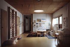 Exterior Blinds, Interior And Exterior, Interior Design, Light Architecture, Interior Architecture, Architectural Lighting Design, Modular Housing, Country House Design, Living Room Photos