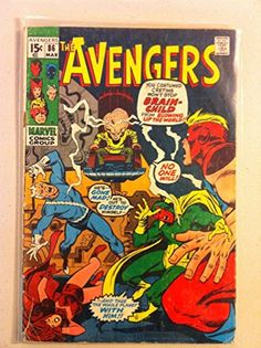 The Avengers #86 Brain-Child Mar 71 Fair to Good [Heavy scuffing on cover staple rust; contents fin @ niftywarehouse.com #NiftyWarehouse #Antman #Ant-man #Movie #Marvel #Comics #ComicBooks #Avengers #TheAvengers