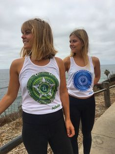 Original Yogi Beach Girl Chakra Designs \