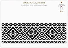 Cum recunoașteți modelele străvechi de pe IE față de cele inventate recent. Cum recunoști o IE cu modele străvechi românești, de UN KITSCH. | Lupul Dacic Beading Patterns, Cross Stitch Patterns, Crochet Patterns, Folk Embroidery, Embroidery Patterns, Loom Beading, Knitting Stitches, Textile Patterns, Cross Stitch Designs