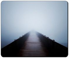 """Foggy Jurney To Nowhere Customizable Gaming Mouse Pad Thick Mouse Mat 240x200x3mm(9.45""""x7.87""""x0.12"""") by iCustom&Shop Mouse Pads http://www.amazon.com/dp/B00XBBADS4/ref=cm_sw_r_pi_dp_g6TTvb13TGPNW"""