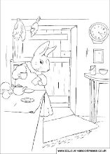 ★ 30 Pictures of Peter Rabbit Colouring Book Pages Online