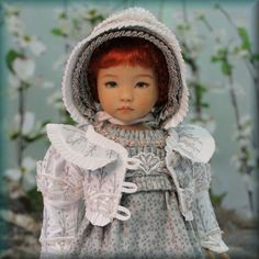 "MHD Designs ""Saison D'Amour"" OOAK Pattern Proof for 13"" Little Darlings"