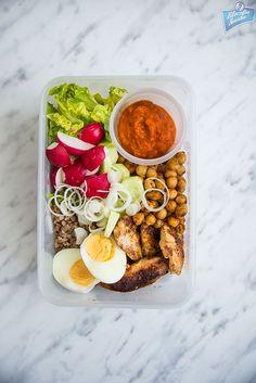 Lunchbox dla osób na redukcji