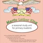 Martin Luther King Birthday - 32 usable pages of lesson plans in one thematic workbook covering the entire MLK Birthday observance for your 1st to ...