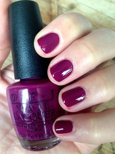 NOTD OPI Coca Cola Collection 2014: Get Cherried Away, from http://makeupoholic.wordpress.com