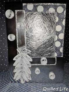 Quilled Life: Pada śnieg... #quilling #diy #christmas #christmascard #handcraft #handmade