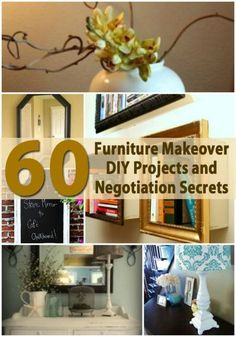 Top 60 Furniture Makeover DIY Projects and Negotiation Secrets - DIY & Crafts